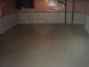 interior floor painting